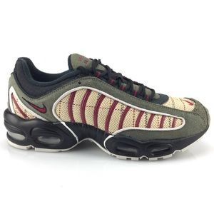 NEW Nike Air Max Tailwind 4 Plaid Olive Canvas